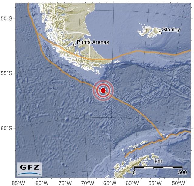 Seguimiento mundial de sismos Gfz2018vemc